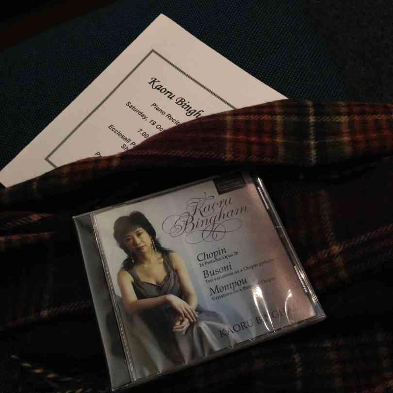 Kaoru Bingham recital