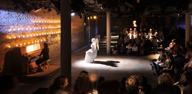 The Bush Theatre: A scene from Sixty Six Books. (Photo: Philip Vile)