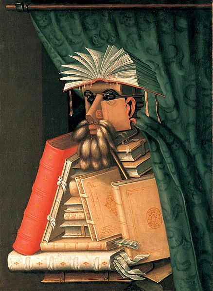 The Librarian, Giuseppe Arcimboldo (1527–1593)