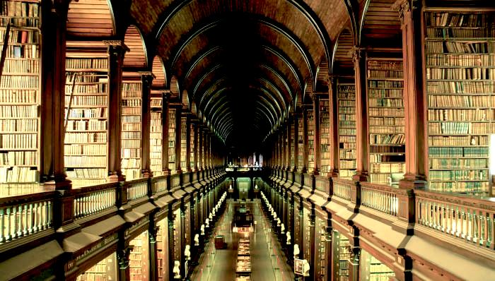 Infinte library