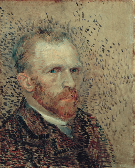 Self-Portrait, 1887, Vincent Van Gogh