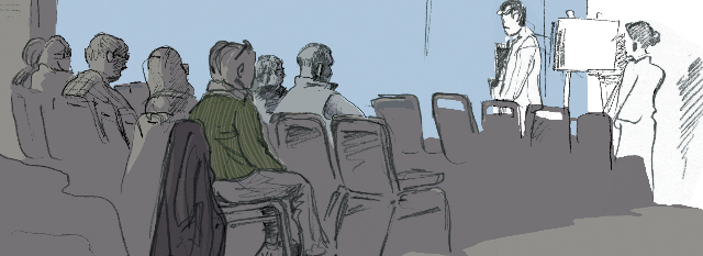 Audience, Swaffham Assembly Hall (Rosie Redzia 2014)