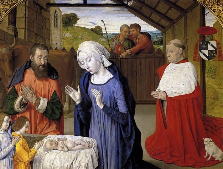 Master of Moulins, Nativity