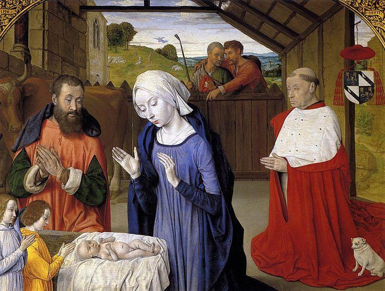 Master of Moulins, Nativity