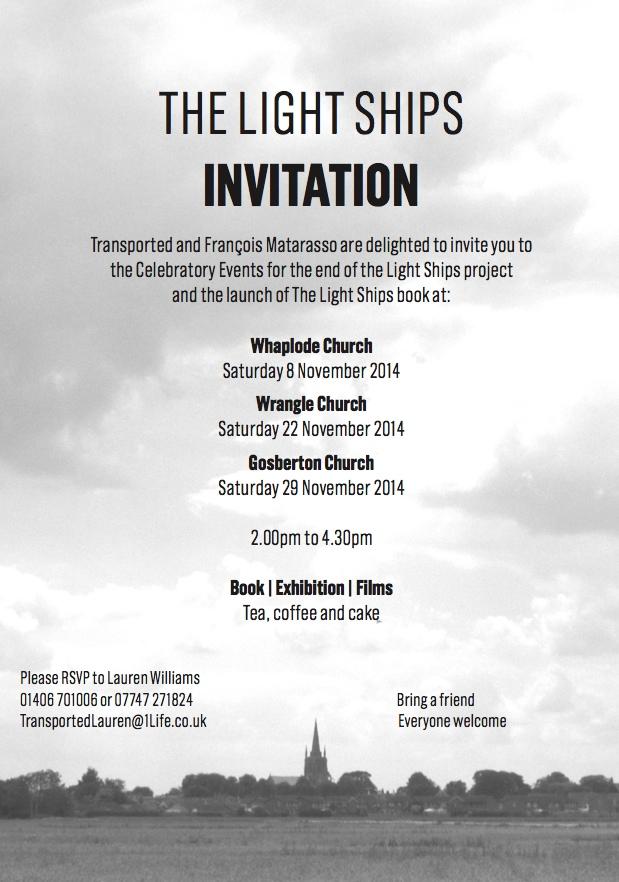 The Light Ships Invitation