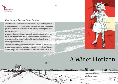 A Wider Horizon, Cover