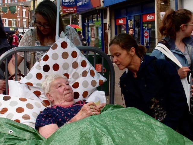 Rosie Wheatland in Entelechy Arts 'Bed' - 1