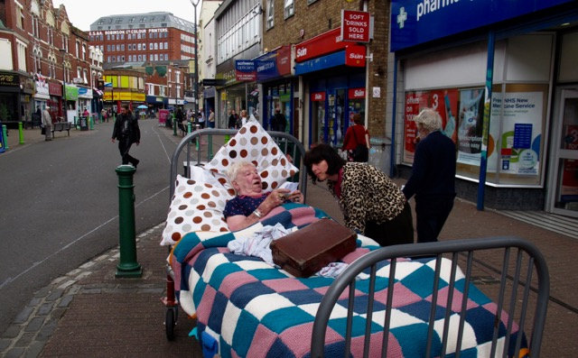 Rosie Wheatland in Entelechy Arts 'Bed' - 2